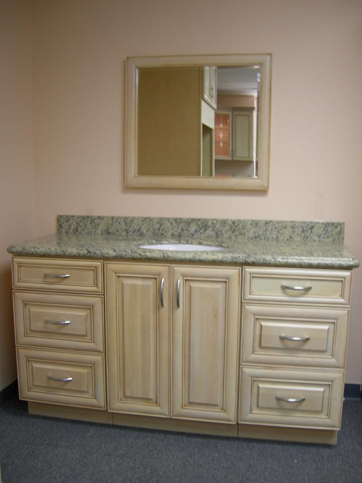 Antique tampa cabinet store for Bathroom vanity warehouse tampa
