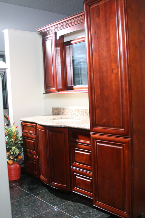 Jackson maple tampa cabinet store for Bathroom vanity warehouse tampa