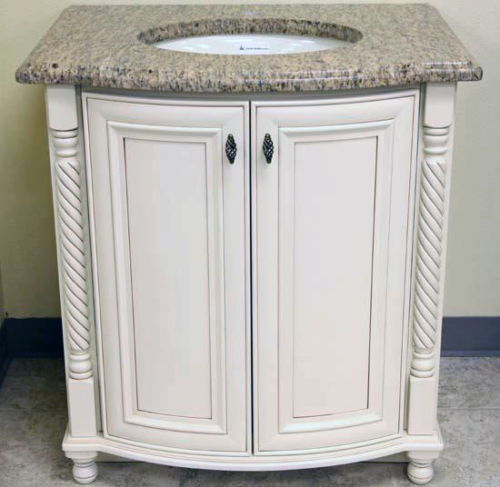 Jaffna ivory tampa cabinet store for Bathroom vanity warehouse tampa