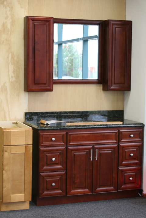 Toffee tampa cabinet store for Bathroom vanity warehouse tampa