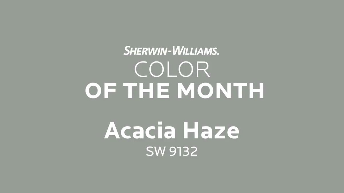 Sherwin Williams Color Of The Month February 2018